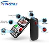 "cell phone screen YINGTAI Big Screen/push button Virtual Keyboard bar Cell phones better than Nokia senior mobie phone 1000mAh 2.4"" for elderly FM (1)"