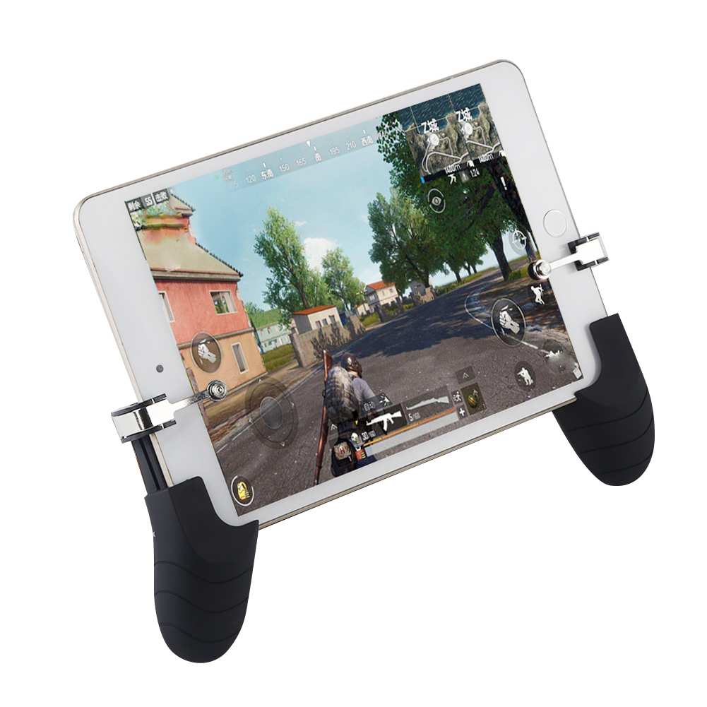 For PUBG Cell Phone Mobile control Gamepad Trigger Fire Button Aim L1R1 Shooter Controller For IOS Ipad Android Xiaomi Joystick shirlin for pubg mobile gaming trigger games button aim key l1 r1 shooter controller joystick gamepad for fortnite