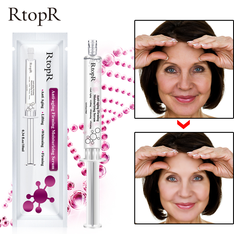 Hyaluronic Acid Anti-aging Firming Face Moisturizing Serum Effective Repair Facial Skin Rejuvenation Skin Care Cream RtopR TSLM2