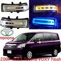 Carro-styling, Voxy Espelho de luz, 2007 ~ 2013, Livre O navio! 2 pcs, Voxy espelho luz; carro-cobre, cromo, ESTIMA, Voxy transformar a luz; ALPHARD, Noah