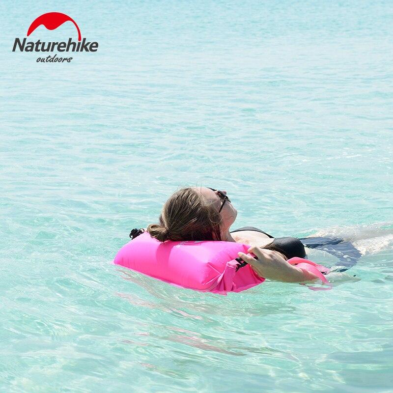 naturehike 28l 3 camadas saco seco inflavel bisaccate pvc saco de mergulho a prova d agua