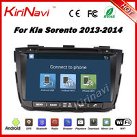 Kirinavi android 7.1 1024*600 car audio system for kia sorento 2013 2014 car stereo dvd player gps navigation 3G WIFI Playstore