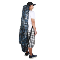 FDDL Fishing Bag Fishing Rod Bag 120cm 130cm 150cm Folding Portable 2 3 Layer Fishing Tackle