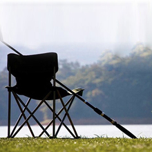LumiParty Fishing Chair Super Light Portable Folding Alloy Camping Chairs Super Comfort Fishing Chair