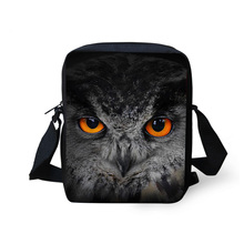 Owl Bag Panda Mini Messenger Bags for Women 3d Animal Crossbody Bags Bolsos Mujer Small Shoulder Bags Girl Handbags Multicolor