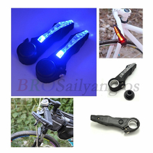 New 2pcs Bike Bicycle Handlebar Grips Light Led Bicycle Turn Signal Warning Lamp Safe Cycling Mountain Bike Bicycle Lights