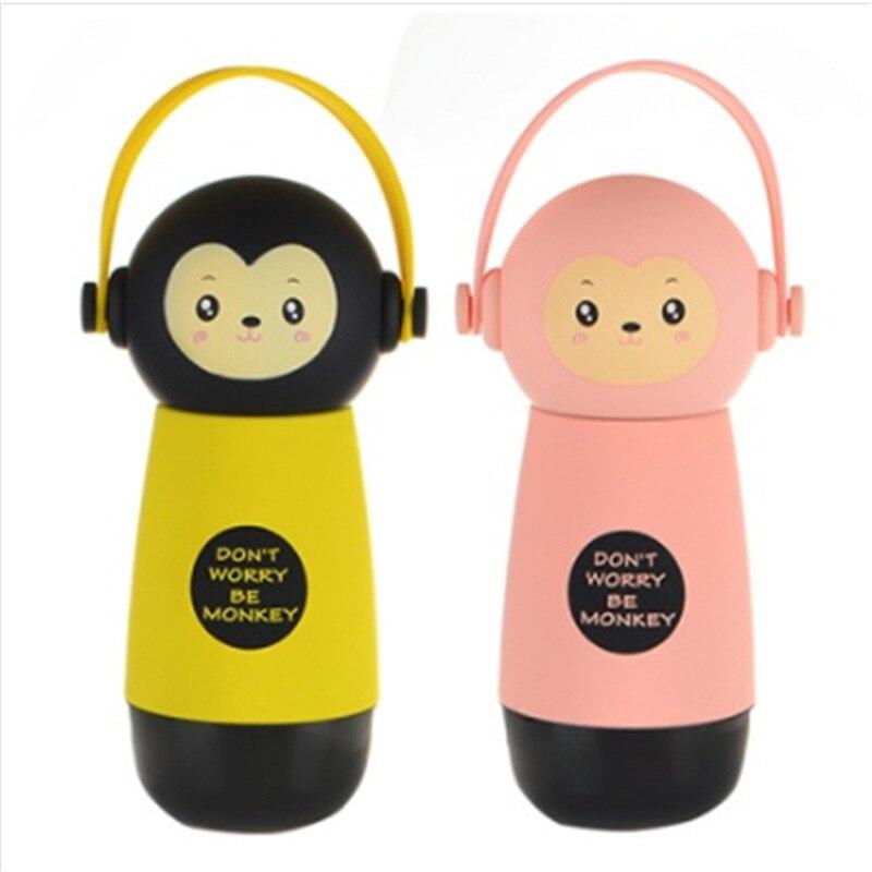 Изолированные bpa бесплатно Творческий портативный дети мультфильм спорта вакуумного my water детские вещи термос дети бутылка