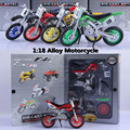 1:18 motorcycle model, assemble gift boxes assembled model toy car, children's favorite gifts, free shipping
