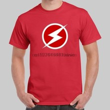 Wally West Kid Flash Logo The Flash Red T-shirt USA Size(China)