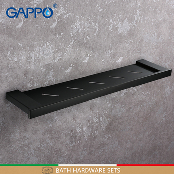 GAPPO Bathroom Shelves wall mounted accessories shower bathroom shelf shower holders hanger shelves
