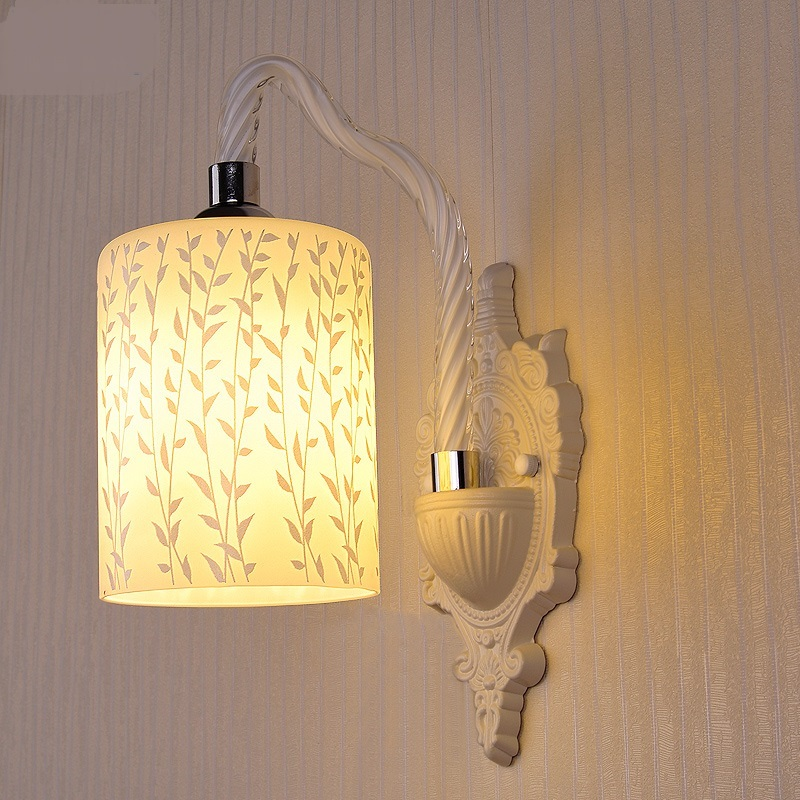 European Wall Lamps glass lamp bedroom bedside lamp restaurant dining room entrance corridor balcony staircase study LU823421