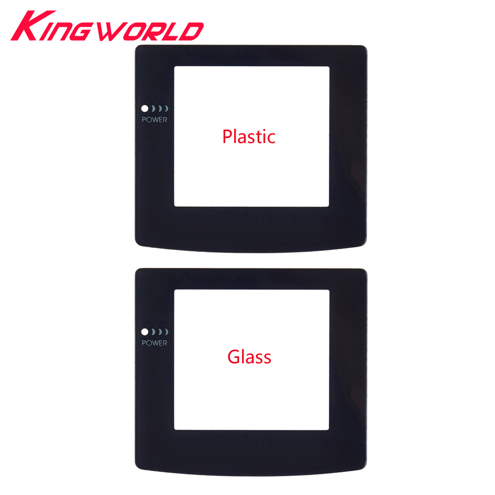 High Quality Plastic Glass Screen Lens Protective Protector For G-ame Boy For G-ameBoy Color For G-BC
