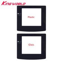 Hohe qualität Kunststoff Glas Bildschirm Objektiv Schutz protector für G-ame Junge für G-ameBoy Farbe für G-BC