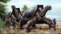Technics Turtles Painting Art Fantasy tech mecha robots 4 Sizes Home Decoration Canvas Poster Print
