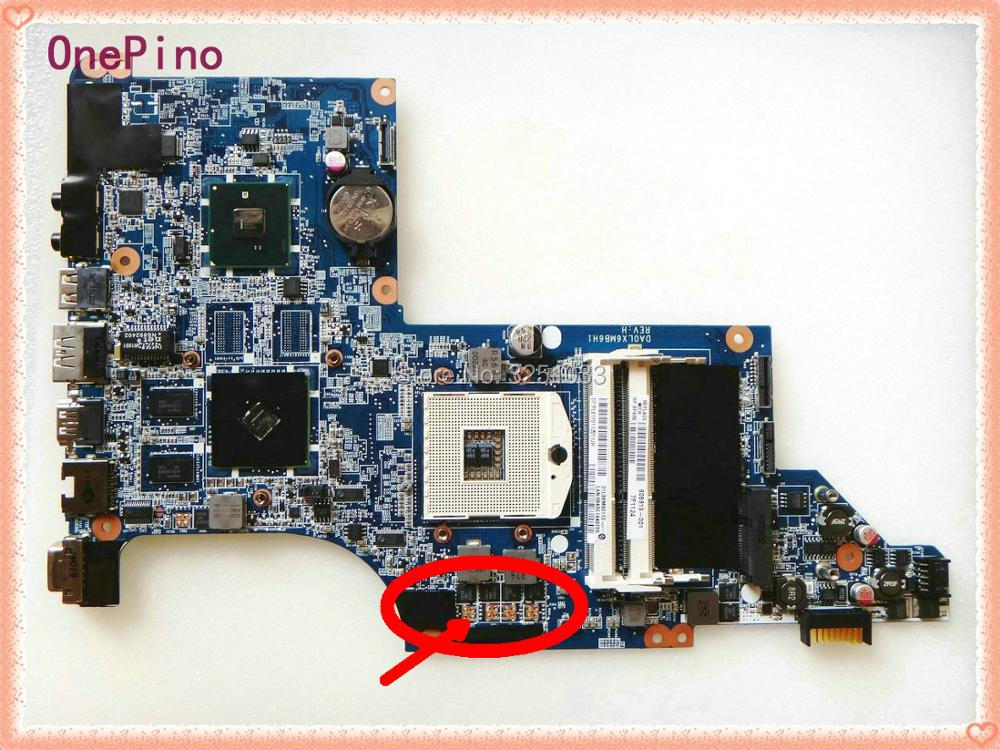 605319-001 for HP PAVILION DV7T-4100 NOTEBOOK for HP DV7-4000 DV7 laptop motherboard 100% Tested 60 days warranty top quality for hp laptop mainboard envy15 668847 001 laptop motherboard 100% tested 60 days warranty
