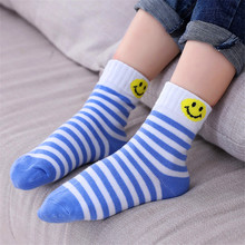 5Pairs/Lot Cartoon Baby Socks autumn and winter Children Sock Breathable Cotton Kid For Boys Girls  1-12 Years