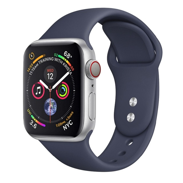 CRESTED Strap For Apple Watch band apple watch 4 3 iwatch band 42mm 38mm correa 44mm/40mm pulseira Bracelet watch Accessories 42 1