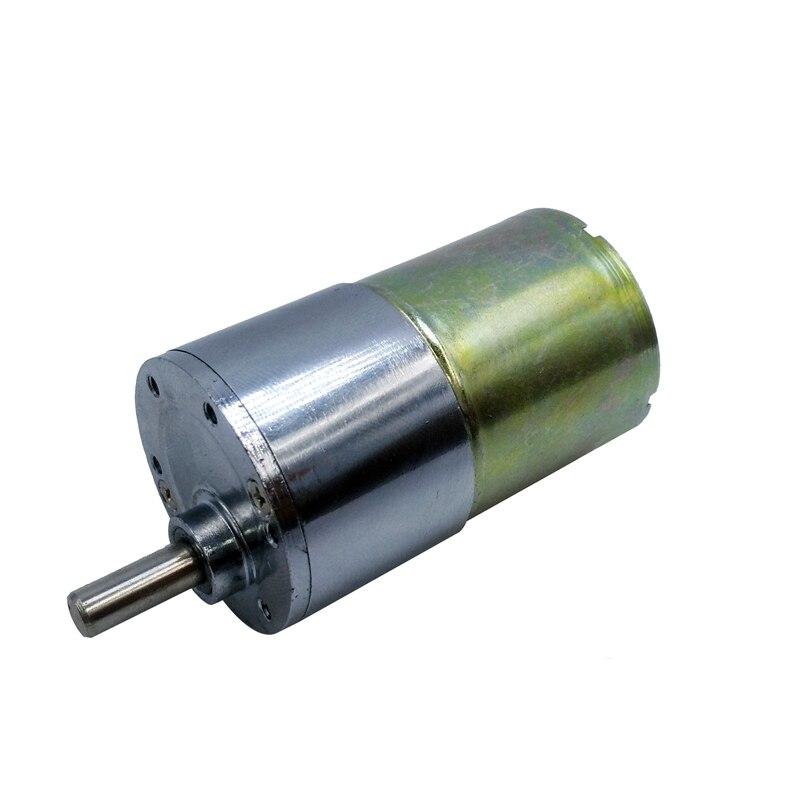 GB37RG 12VDC 2/5/10/15/20/30/40/60/87/ 100/120/50/200/300/400/500/550/600/1000 rpm gear motor 37mm Eccentrico Albero di Uscita