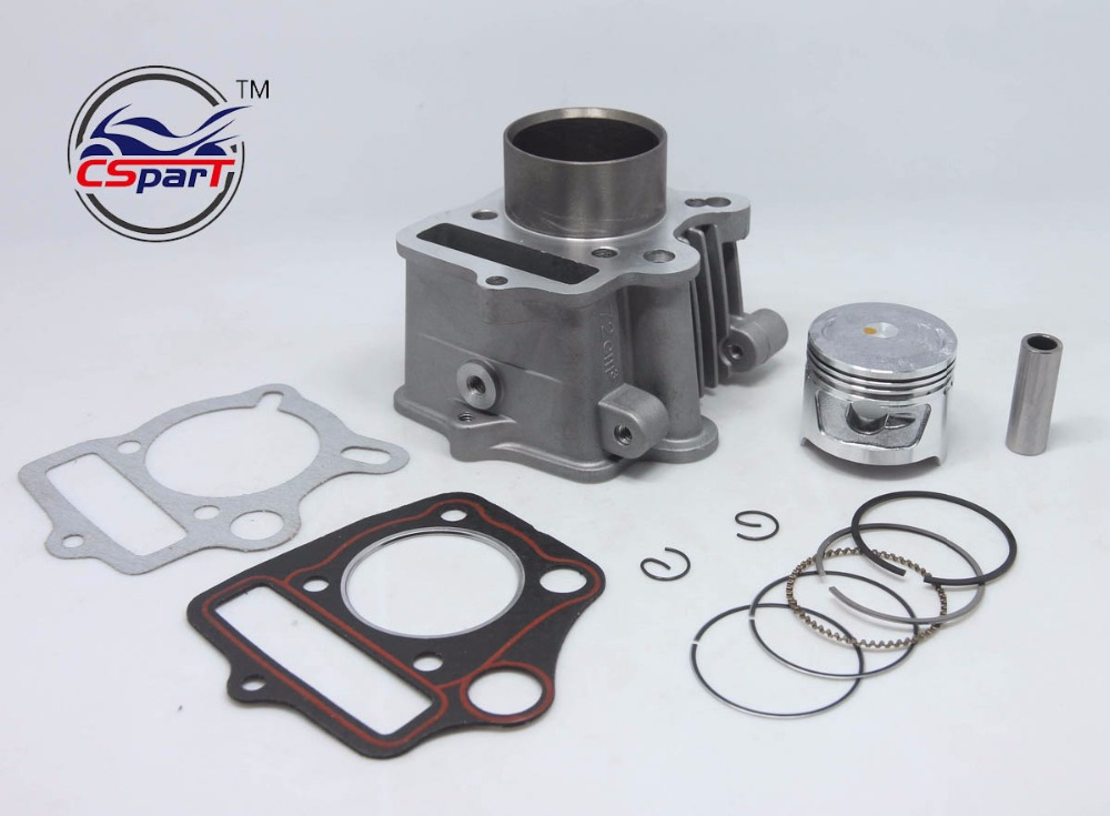 47mm Cylinder Piston Ring Gasket Kit For 70CC Honda CRF 70 Kaya Lifan ZongShen Dirt Pit