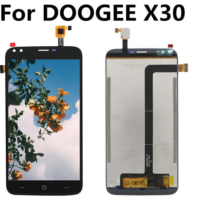 For DOOGEE X30 LCD Display+Touch Screen Digitizer Assembly Replacement for DOOGEE X 30 lcd