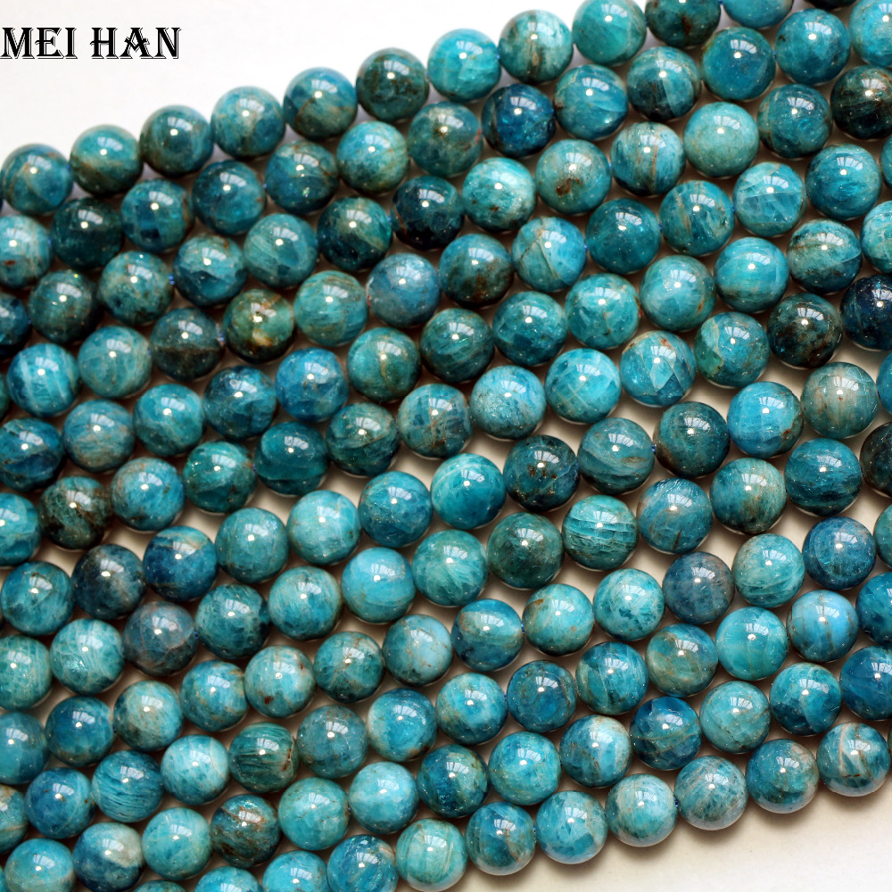 """1 Strand Blanc Turquoise Gemstone Spacer Loose Beads Charm Findings 15/"""""""