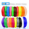 WEIYU 3 D 10 או 200 מטר/צבע 1.75mm ABS/PLA חומר 3D PLA נימה עבור 3D עט נימה ABS פלסטיק 3D עטי אספקת צבע