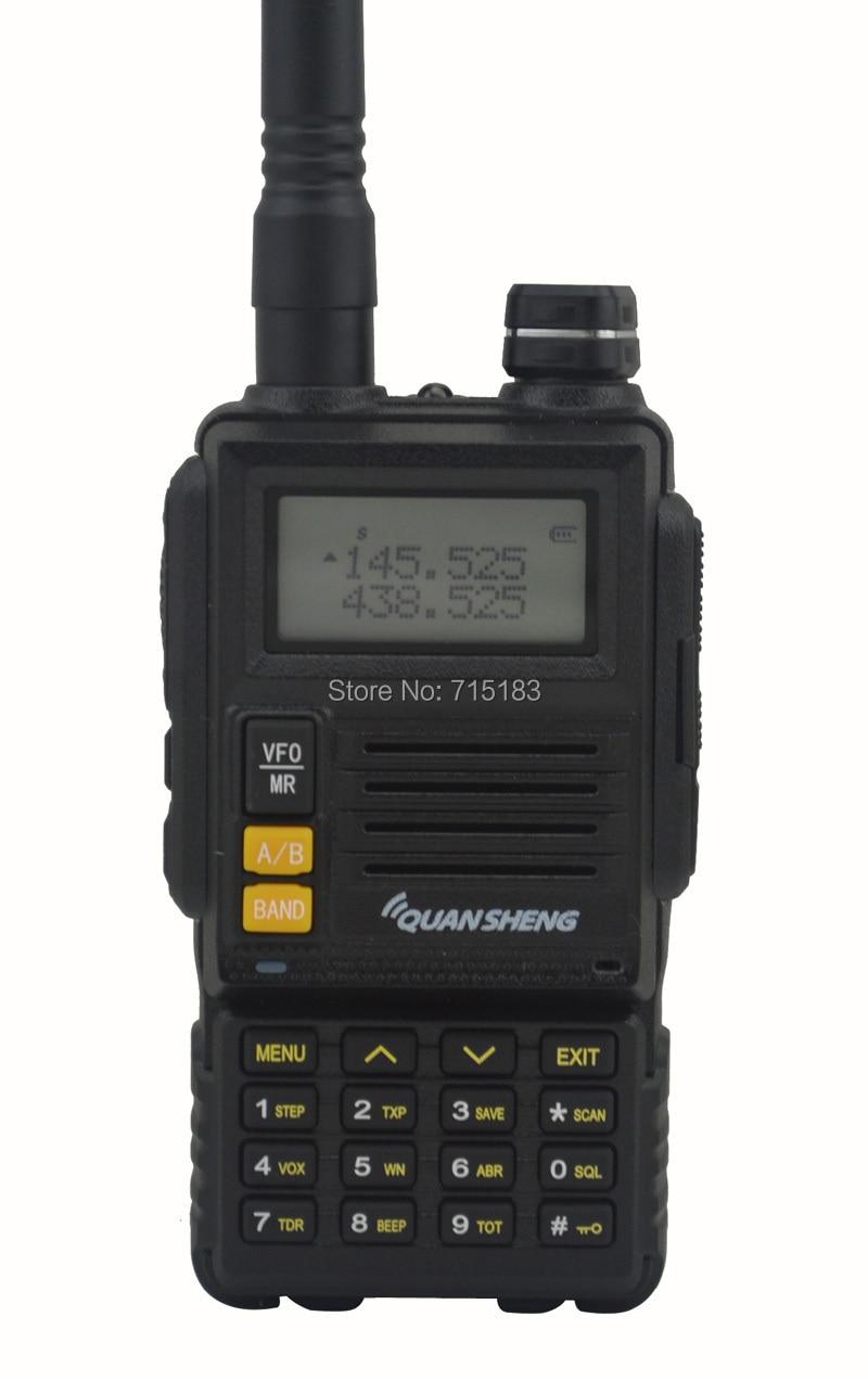 2pcs/lot 2014 New QUANSHENG TG-45UV Walkie Talkie UHF400-480MHz & VHF136-174MHz Dual Band 6W 128CH Portable Two-way Radio2pcs/lot 2014 New QUANSHENG TG-45UV Walkie Talkie UHF400-480MHz & VHF136-174MHz Dual Band 6W 128CH Portable Two-way Radio