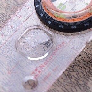 Image 3 - Boussole transparente Guide de Direction orientation Scouts armée survie Camping offre spéciale extérieure en gros