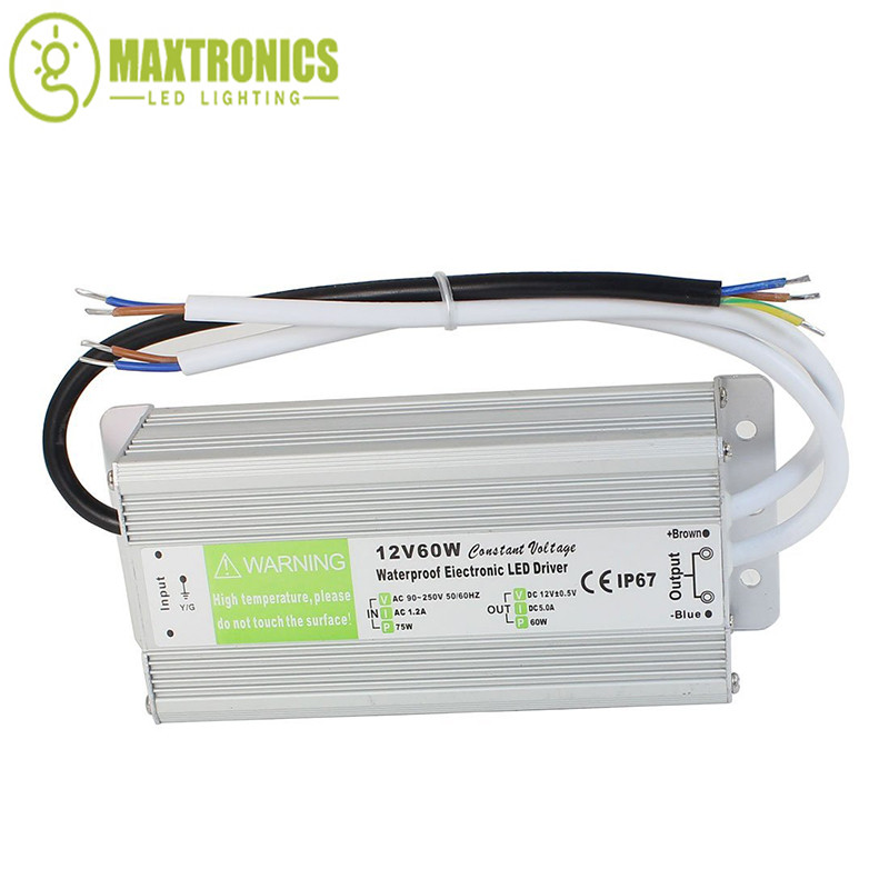 DC12V Power Supply Driver for LED Strip Module Driver Lighting Waterproof  #X