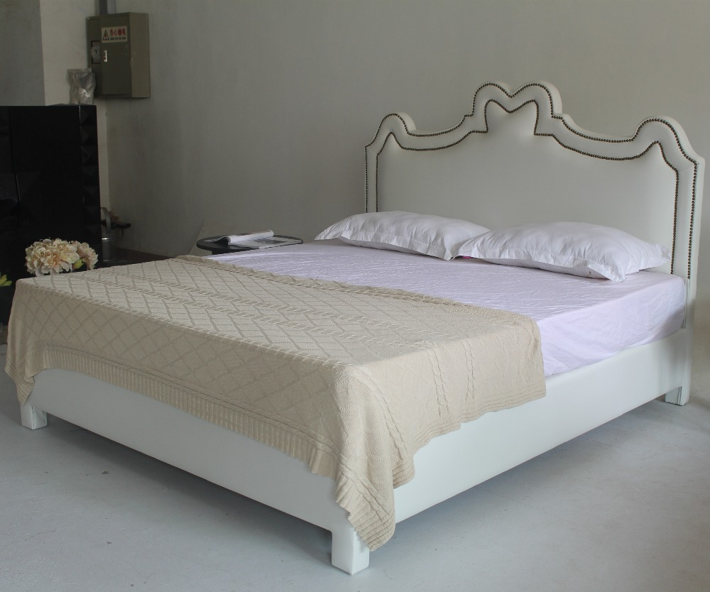 White leather beds designs 1 - 2015 Latest Double Bed Frame Design White Leather Bed Furniture In Beds From Furniture On Aliexpress Com Alibaba Group