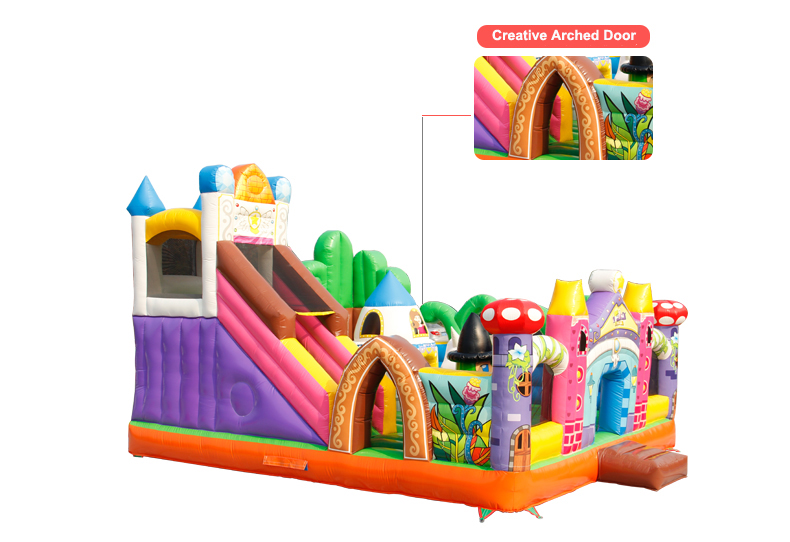 HTB14Mdbc93PL1JjSZPcq6AQgpXak - You-Toys Huge Commercial Bouncy Inflatable Castle House Magic Garden Bounce House Kids Playground