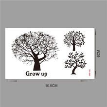 2017 style Christmas Party DIY Decorations tattoo tatoo for wedding decoration mariage bride to be party supplies WM105