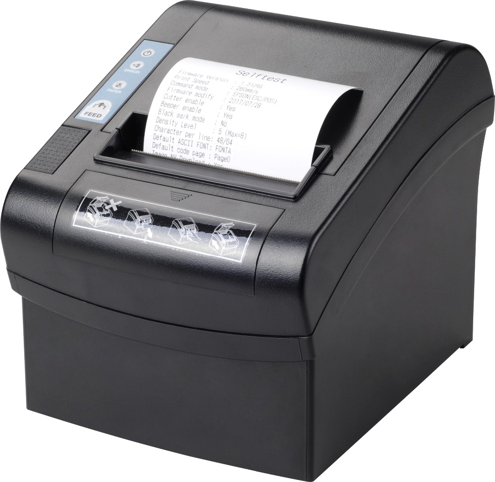 Origin Japanese EPOS80260 80mm thermal printer USB+LAN+SERIAL interface for store