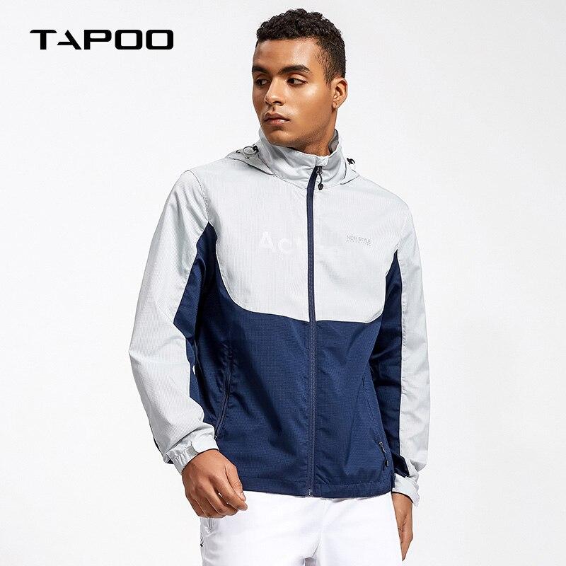Tapoo Мужские Блейзер Куртка Кожа тонкая повседневная куртка весенне-летний жакет 2018