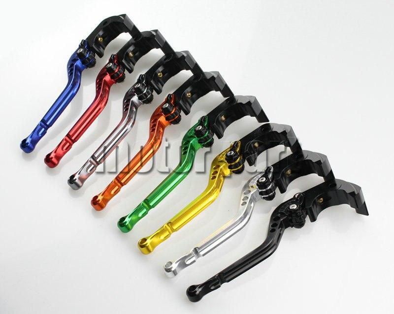 CNC Motorcycle Adjustable Long Brake Clutch Levers For 2012-2014 Triumph Tiger 1200 Explorer Trophy SE 12 13 14 2013