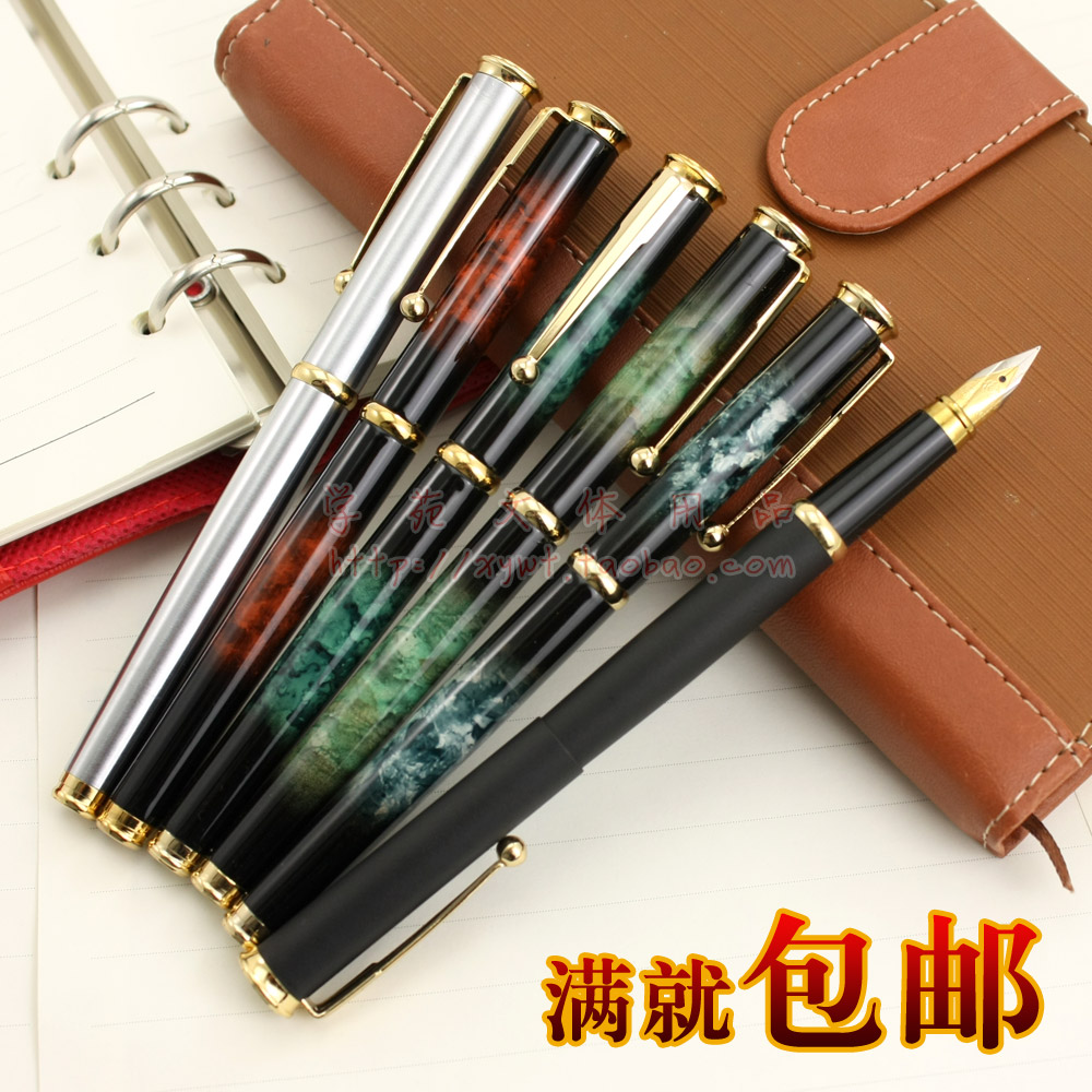 Hero 58 iridium fountain pen classical  fountain pen high cost cost efficient screw metal converter hero 3168 metal fountain pen