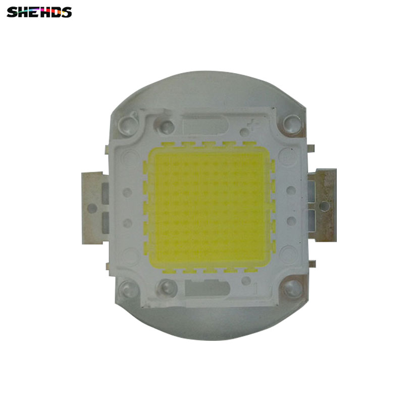 4 pcs/lot 100W High Power COB LED Chip DC Integrated Bulbs SMD For Floodlight Spotlight Warm White /White/Cool White high power cob led chip 10w 20w 30w 50w 100w dc 10v 32v integrated source smd for floodlight spotlight warm white white outdoor