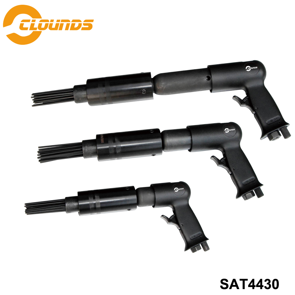 SAT4430 Profesional Pneumatic Hammer 150/190/250mm Air Multiple Needle Scaler Air Hammer Bit SetSAT4430 Profesional Pneumatic Hammer 150/190/250mm Air Multiple Needle Scaler Air Hammer Bit Set