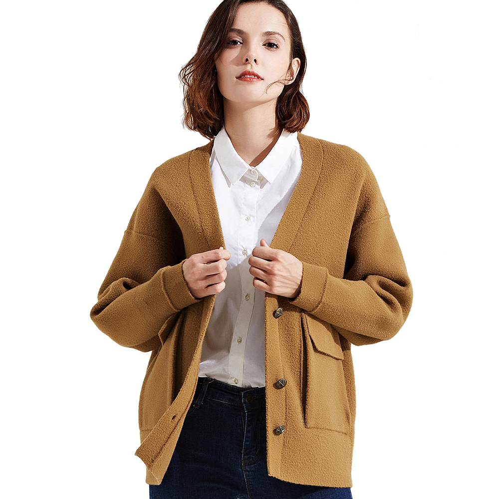 Fashion Women Cardigan 2017 New High Quality Casual Knitted Coat for Women Solid Color Open Stitch Sweater Lady Outerwear 171116