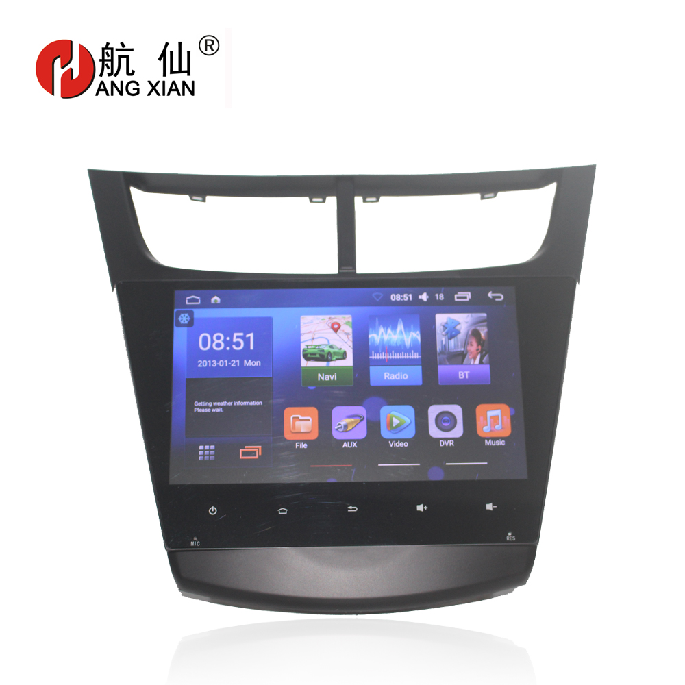 Capacitive 9 Quadcore Android 6.0 Car Radio for 2015 Chevrolet Sail 3 low trim car DVD player with 1G RAM,16GB iNAND