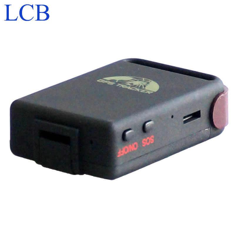 Бесплатная доставка, оригинальный мини-трекер Coban GPS102B TK102B, 4 полосы, GPS, GSM, GPRS, устройство для измерения яркости автомобиля, мотоцикла