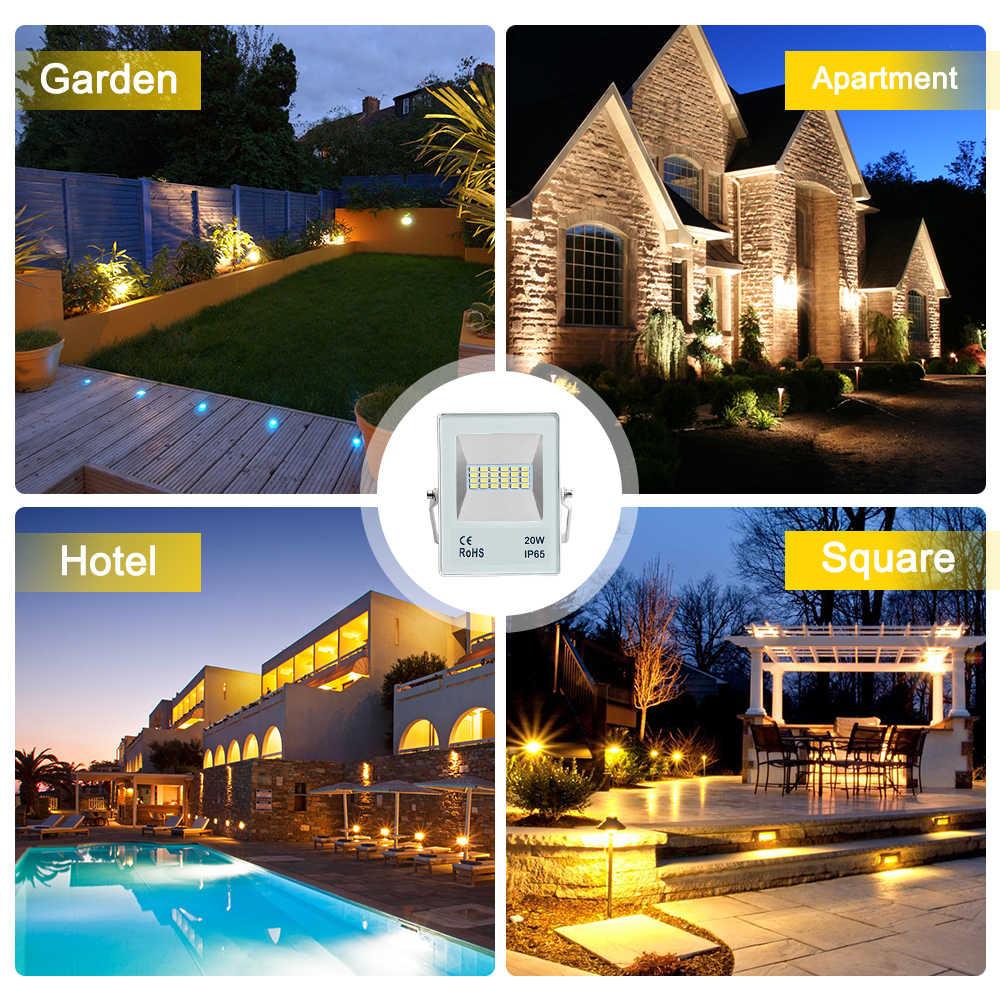 10 W 20 W 30 W 50 W 70 W 100 W свет, чтобы прожектор светодиодный проектор ip65 водонепроницаемая садовая лампа проекта свет, отражатель