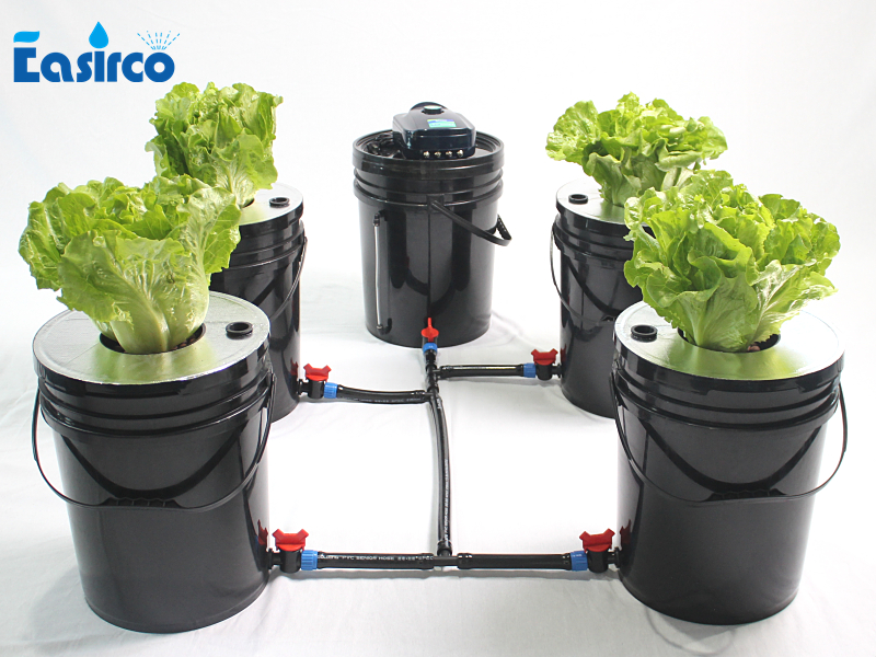 DWC  5x 5 Gallon Cloner Round  Bucket For Hdroponics System. Deep Water Culture