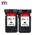 For Canon PG-140 CL-141 PG140 CL 141 Ink Cartridges  For  MG2580 MG2400 MG2500 IP2880, For Canon PG 140 CL141 factory wholesale
