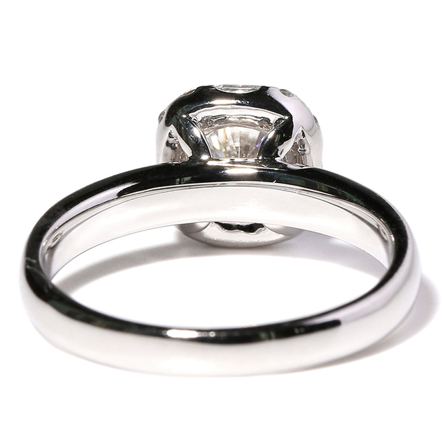 14K 585 White Gold 1CT Diamond Ring