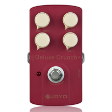 Electric Guitar Effect Pedal Deluxe Crunch Metal Instrument Spare Part Guitar Pedal JOYO JF-39 Effects Part недорого