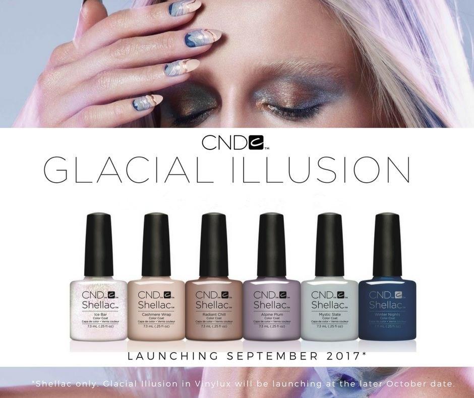 CND Nightspell Glacial Illusion nail Polish Shellac Long-lasting Soak-off UV/LED Nail lacquer varnish Nail art