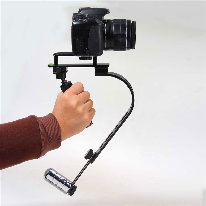 Cheap Alloy Steadycam Steadicam Digital Camera Camcorder Stabilizer Steadicam Stabilisers For DSLR cnc aluminum motorcycle adjustable rearset rear set foot pegs pedal footrest for kawasaki ninja 650 ex650 er 6n er 6f 2012 2016