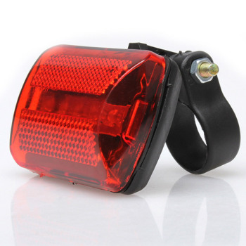 5 LED Rear Tail Red Bicycle Back Light 7 Mode Bike Taillight For 2.5-2.8CM Diameter Frame YS-BUY image