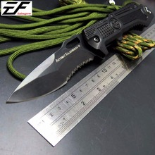 EFE Camping Folding Knife Pocket Hunting Tactical Diving Knife Survival Outdoor Tool knife Alumin Alloy Handle knives
